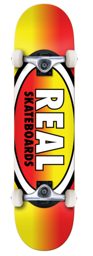 """Real Oval Fades 7.75"""" Complete"""