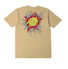 Santa Cruz Boom Goldy Youth Tee