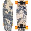 Gold Coast Longboards Wanderlust Orange Surfskate