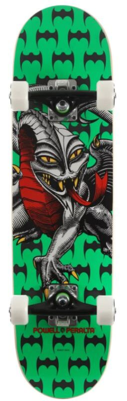 Powell Peralta Cab Dragon One Off Green 7.5 Skateboard Complete