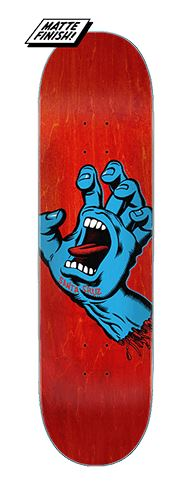 Santa Cruz Screaming Hand 8 Skateboard Deck