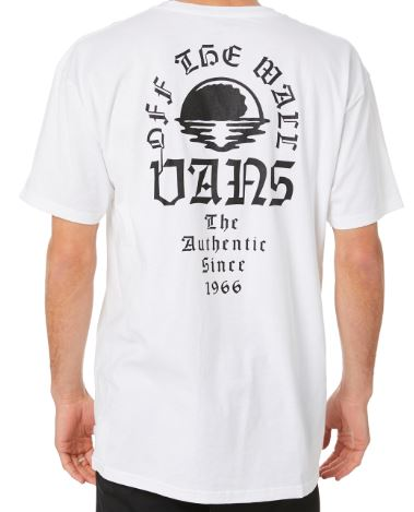 Vans Night Tide White Tee