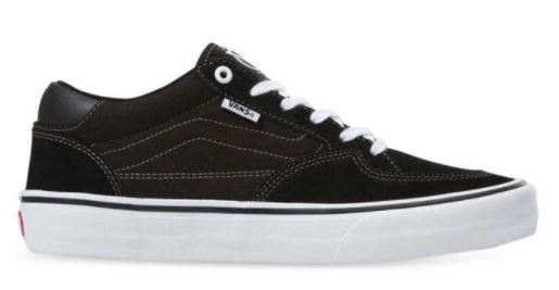 Vans Rowan Pro Black/White Shoes