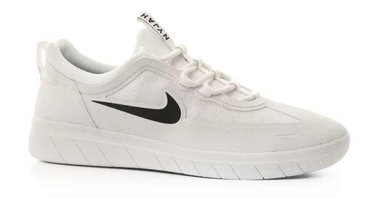 Nike SB Nyjah Free 2 Summit White/Black Summit-White Shoes