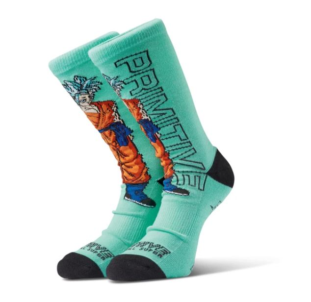 Primitive SSG Goku Teal Socks