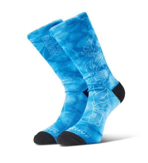 Primitive SSG Goku Washed Blue Socks