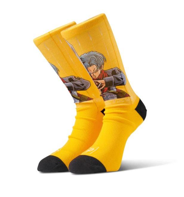 Primitive Shadow Trunks Orange Socks