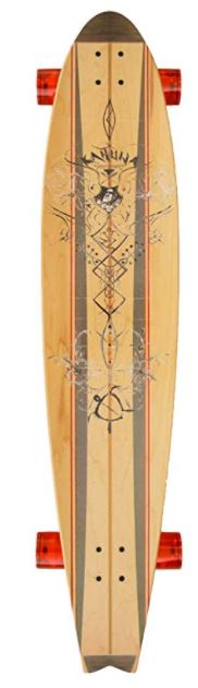 Kahuna Creations Pohaku Natural 47 Skateboard Longboard Complete