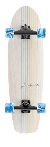 Landyachtz Surfskate Butter Oak Lines 31.2 Cruiser Skateboard Complete