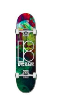 Plan B Colour Dark Smoke 7.75 Skateboard Complete