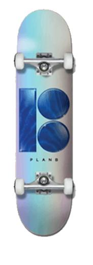 Plan B Hologram 7.75 Skateboard Complete