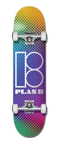 Plan B Mirage 7.5 Skateboard Complete