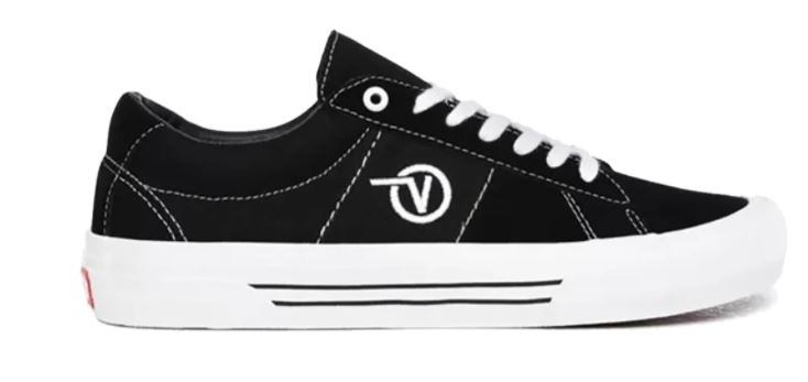 Vans Saddle Sid Pro Black/White Shoes