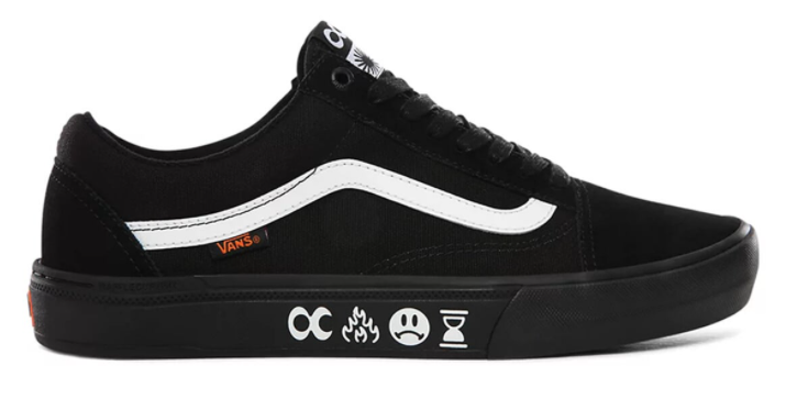Vans X Cult Old Skool Pro BMX Black Shoes