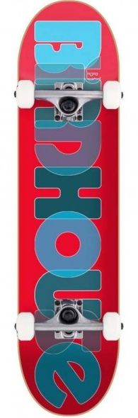 Birdhouse Opacity Red 8 Skateboard Complete