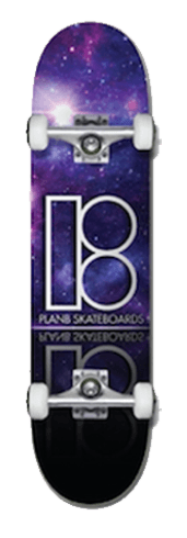 Plan B Galaxy 8.25 Skateboard Complete