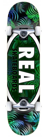 Real Oval Tropics 8 Skateboard Complete