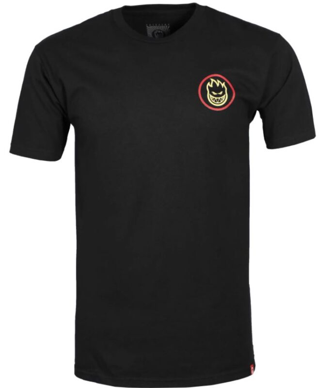 Spitfire Classic Fade Black/Red Tee