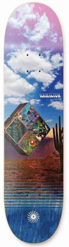 Primitive Hamilton Bento 8.125 Skateboard Deck