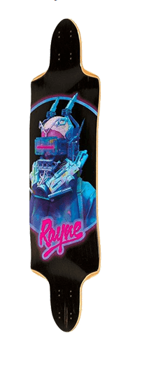 Rayne Future Killer 35 Skateboard Longboard Deck