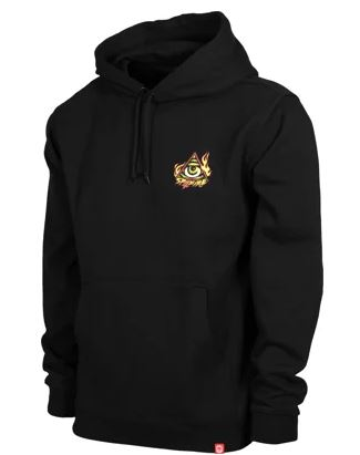 Spitfire Touch Of Satan Black Hoodie