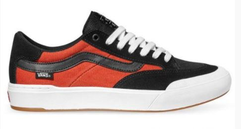 Vans Berle Pro Black/Orange Shoes