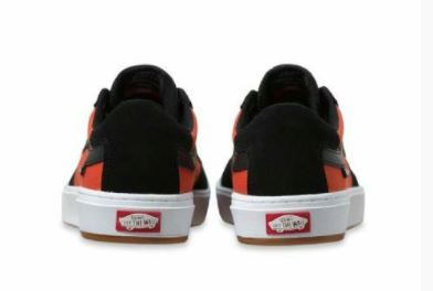 Vans Berle Pro Black/Orange Shoes