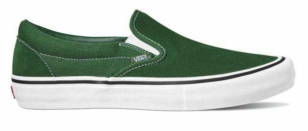 Vans Slip-On Pro Forest Green Shoes