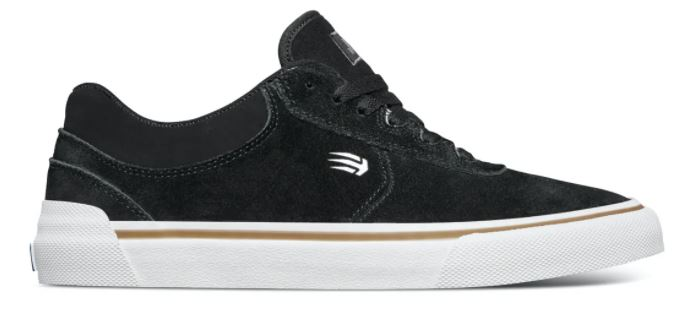 Etnies Joslin Black Vulc Skateboard Shoes