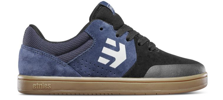 Etnies Marana Kids Black/Blue Shoes