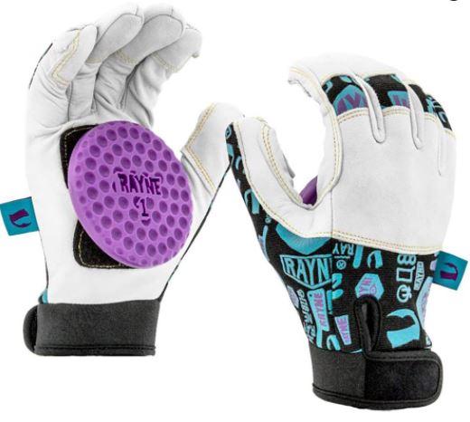Rayne Idle Hands Downhill Longboard Gloves