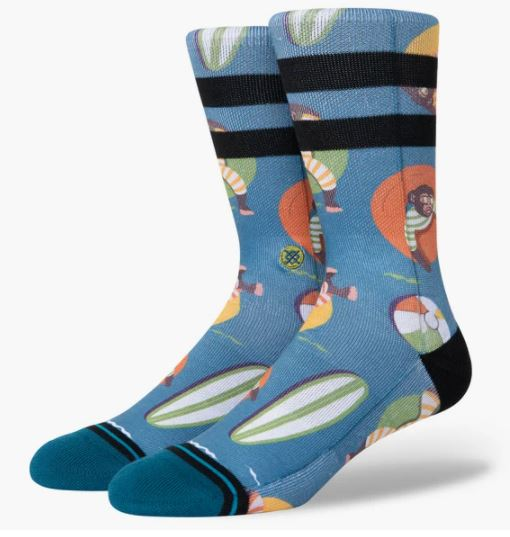 Stance Socks - Monkey Chillin