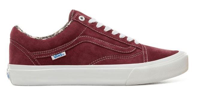 Vans Old Skool Ray Barbee OG Pro Burgundy Shoes
