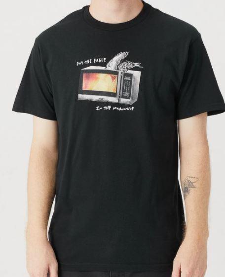 Anti Hero Microwave Eagle Black Tee
