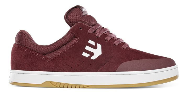 Etnies Marana Maroon/White Shoes