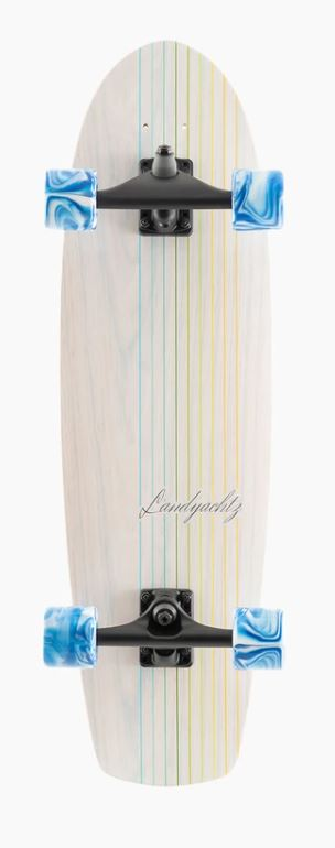 "Landyachtz Butter White Lines 31.6"" Surfskate Complete"