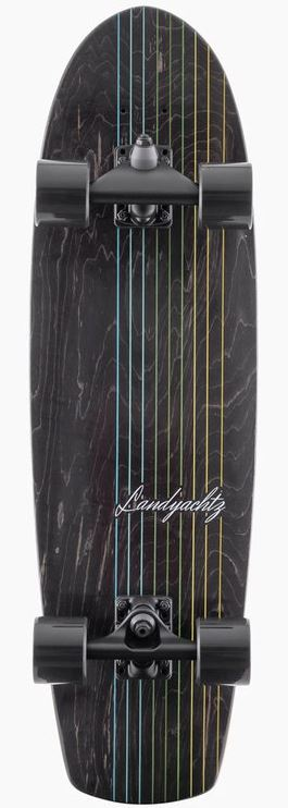 "Landyachtz Butter Black Lines 31.6"" Surfskate Complete"
