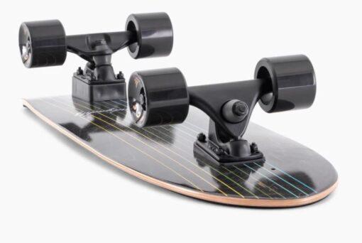 Landyachtz Surfskate Butter Black Lines 31.6 Cruiser Skateboard Complete