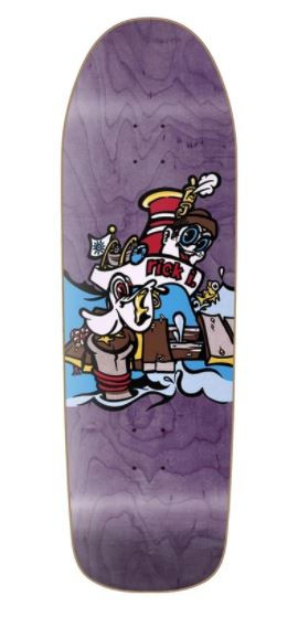 "New Deal Ibaseta Tugboat Purple 9.875"" Deck"