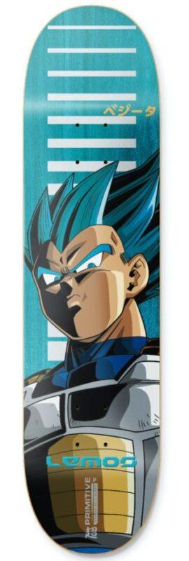 """Primitive X Dragon Ball Z Lemos Vegeta SSG 8.25"""" Deck"""