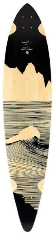 Sector 9 Craig Maverick Bamboo 44 Longboard Skateboard Deck