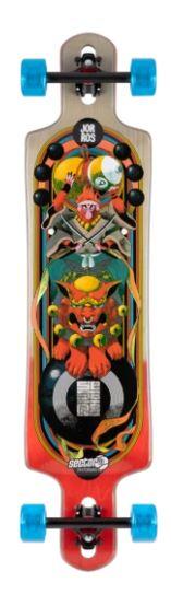 Sector 9 Paradiso Monkey King 40.5 Longboard Skateboard Complete