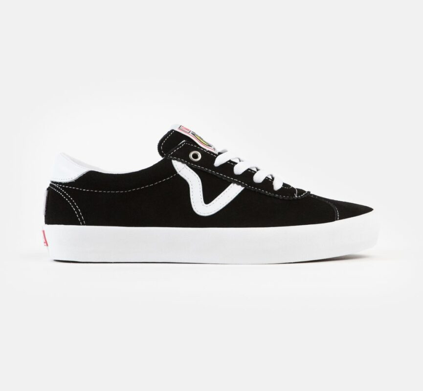 Vans Skate Sport Black/White Shoes