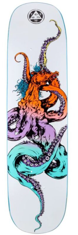 Welcome Seahorse 2 on Amulet 8.125 Skateboard Deck