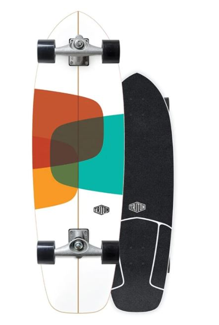 "Carver Triton Prismal 32"" Surfskate Complete"