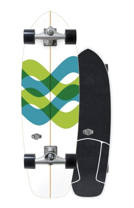 "Carver Triton Signal 31"" Surfskate Complete"