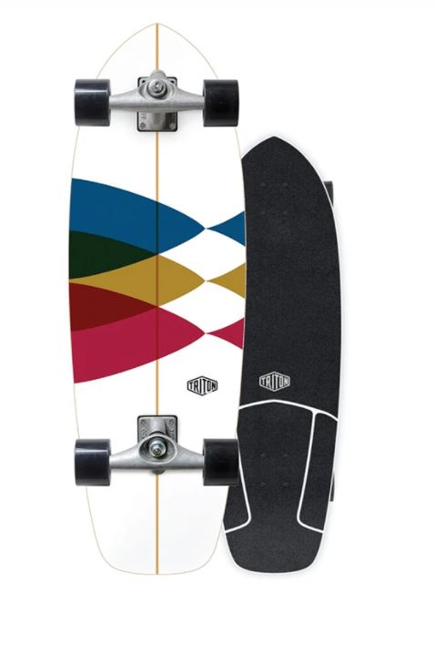 "Carver Triton Spectral 30"" Surfskate Complete"