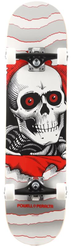 Powell Peralta Ripper One Off Silver 8 Skateboard Complete