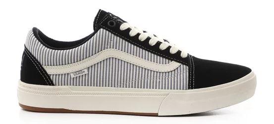 Vans x Federal BMX Old Skool Black/Blue Pinstripe Shoes
