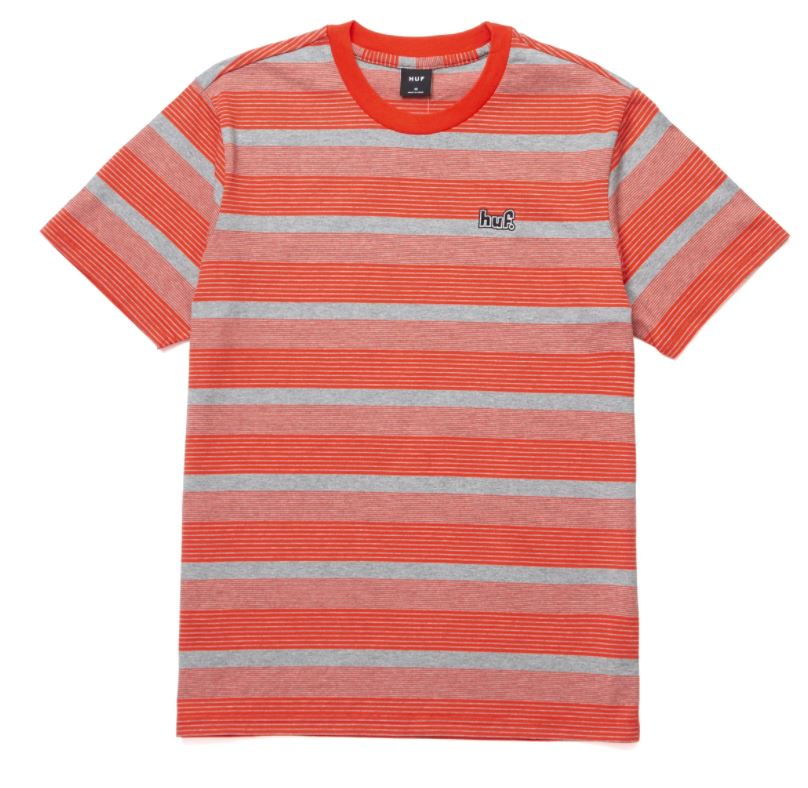 HUF Berkley Stripe Knit Top Tee